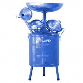 Pingadeira-de-oleo-com-6-funis-capacidade-de-35-litros---UN---Lapek